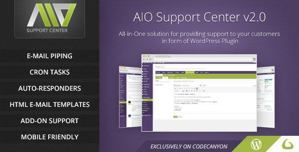 AIO Support Center – WordPress Ticketing System - GPL Pulse