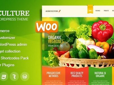 Agriculture All-in-One WooCommerce WP Theme