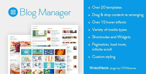 Blog Manager for WordPress