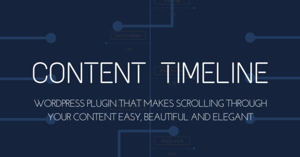 Content Timeline – Responsive WordPress Plugin