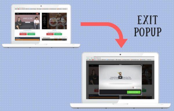 CyberChimps Exit Popup WordPress Plugin