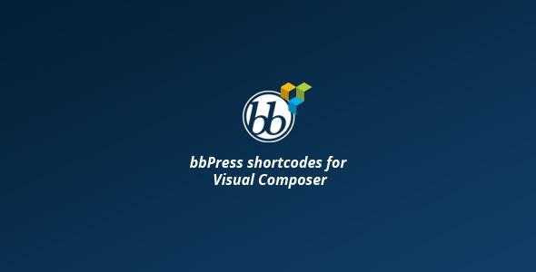 bbPress shortcodes for Visual Composer - Gpl Pulse