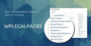 CyberChimps WP Legal Pages WordPress Plugin