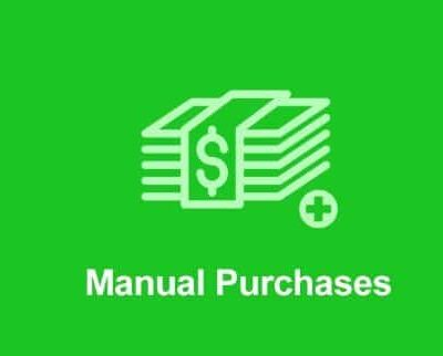 Easy Digital Downloads Manual Purchases Addon - Gpl Pulse