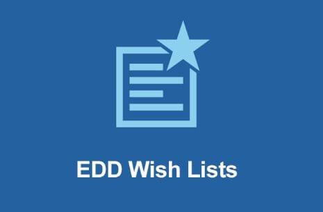 Easy Digital Downloads Wish Lists Addon - Gpl Pulse