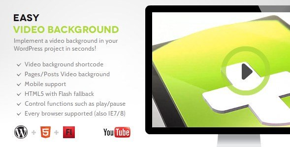Easy Video Background WP - Gpl Pulse
