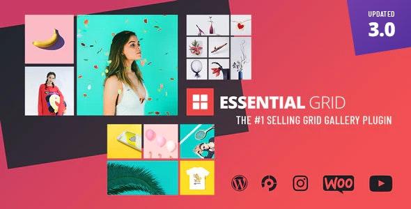 Essential Grid WordPress Plugin - Gpl Plus