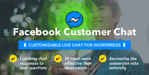 Facebook Customer Chat – Customizable Live Chat for WordPress - Gpl Pulse