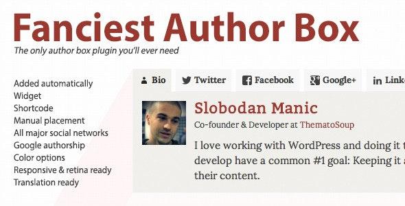 Fanciest Author Box - Gpl Pulse