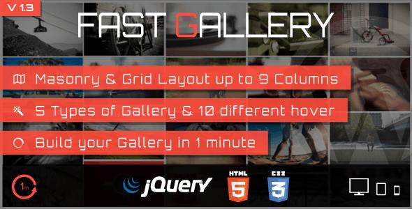 Fast Gallery Premium WordPress Plugin - Gpl Pulse