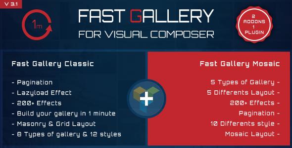 Fast Gallery for Visual Composer WordPress Plugin - Gpl Pulse
