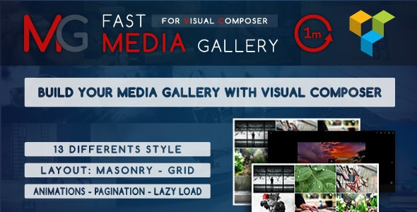 Fast Media Gallery For Visual Composer - Gpl Pulse