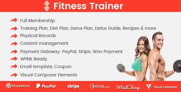 Fitness Trainer – Training Membership Plugin - Gpl Pulse