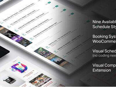 Events Schedule – WordPress Plugin - Gpl Pulse