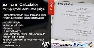 ez Form Calculator – WordPress plugin - Gpl Pulse