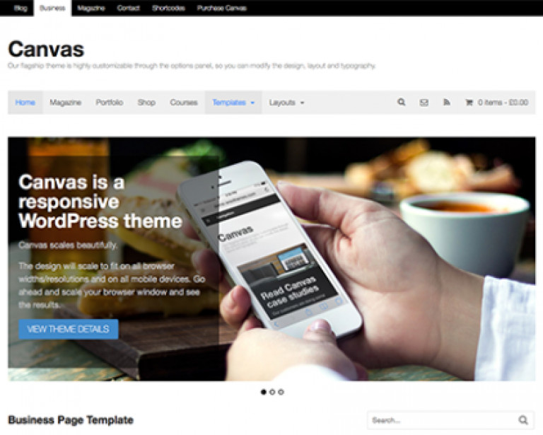 WooThemes Canvas WooCommerce Themes - Gpl Pulse