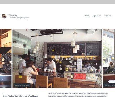 Array Themes Camera WordPress Theme - Gpl Pulse