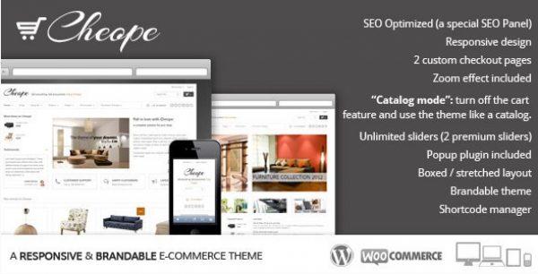 Cheope Shop – Flexible e-Commerce Theme - Gpl Pulse