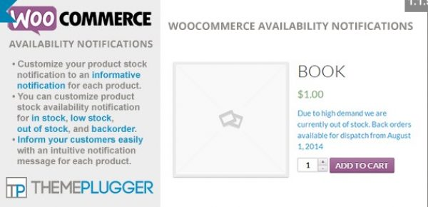 WooCommerce Availability Notifications - Gpl Pulse