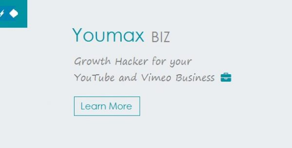 Youmax – Grow your YouTube and Vimeo Business - Gpl Pulse