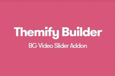 Themify Builder BG Video Slider Addon - Gpl Pulse