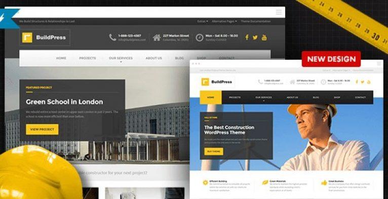 BuildPress – Construction Business WP Theme - Gpl Pulse