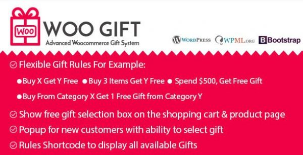 Woo Gift – Advanced Woocommerce Gift Plugin - Gpl Pulse
