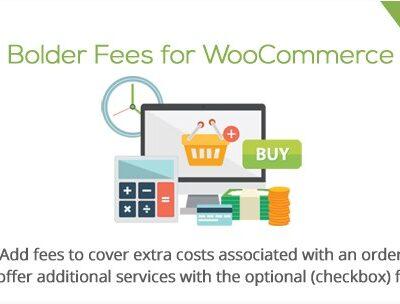 Bolder Fees for WooCommerce - Gpl Pulse