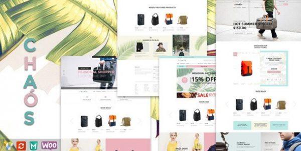 Chaos – Responsive Bag Shop Theme - Gpl Pulse