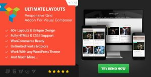 Ultimate Layouts Responsive Grid – Addon For Visual Composer - Gpl PUlse