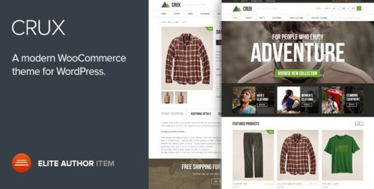 Crux – A Modern And Lightweight WooCommerce Theme - Gpl Pulse