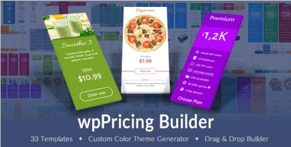 wpPricing Builder – WordPress Responsive Pricing Tables - Gpl Pulse