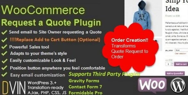 WooCommerce Request a Quote - Gpl Pulse