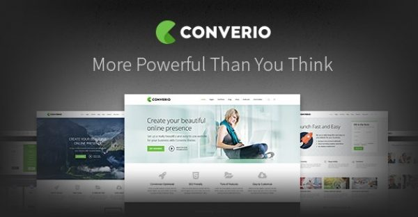Converio – Responsive Multi-Purpose WordPress Theme - Gpl Pulse