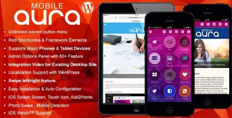 Aura Premium Mobile Theme - GPL Pulse