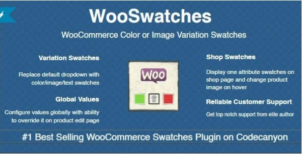 WooSwatches – Woocommerce Color or Image Variation Swatches - Gpl Pulse