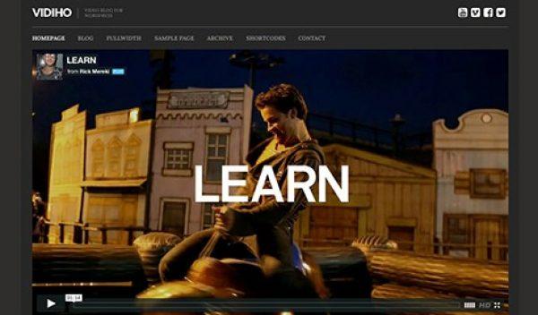 CSS Igniter Vidiho WordPress Theme - Gpl Pulse