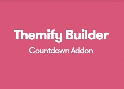 Themify Builder Countdown Addon - Gpl Pulse