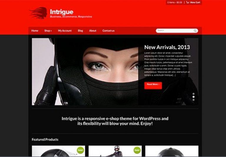 CSS Igniter Intrigue WordPress Theme - Gpl Pulse
