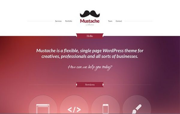 CSS Igniter Mustache WordPress Theme - Gpl Pulse