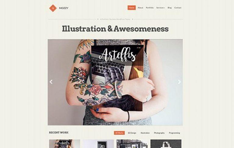 CSS Igniter Mozzy WordPress Theme - Gpl Pulse