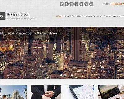 CSS Igniter BusinessTwo WordPress Theme - Gpl Pulse