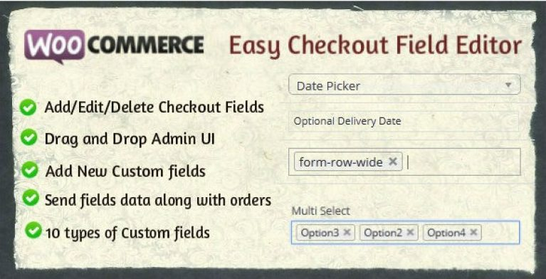 Woocommerce Easy Checkout Field Editor - Gpl Pulse