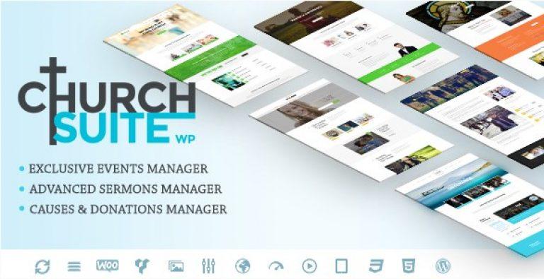 Church Suite – Responsive WordPress Theme - Gpl Pulse