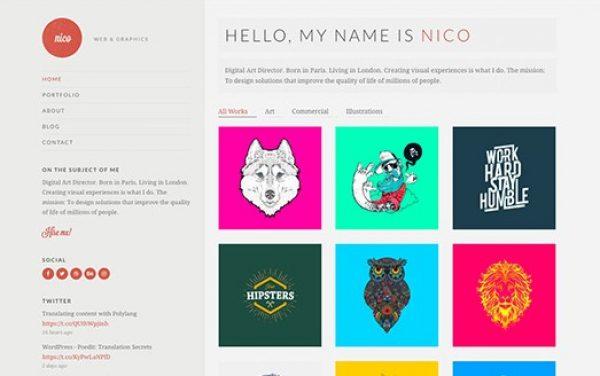 CSS Igniter Nico WordPress Theme - Gpl Pulse