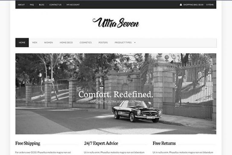 CSS Igniter UltraSeven WordPress Theme - Gpl Pulse