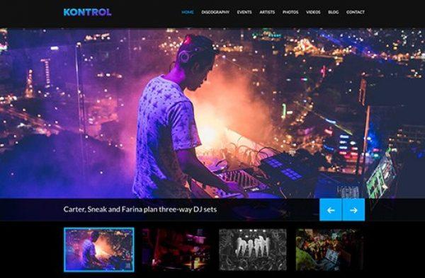 CSS Igniter Kontrol WordPress Theme - Gpl Pulse