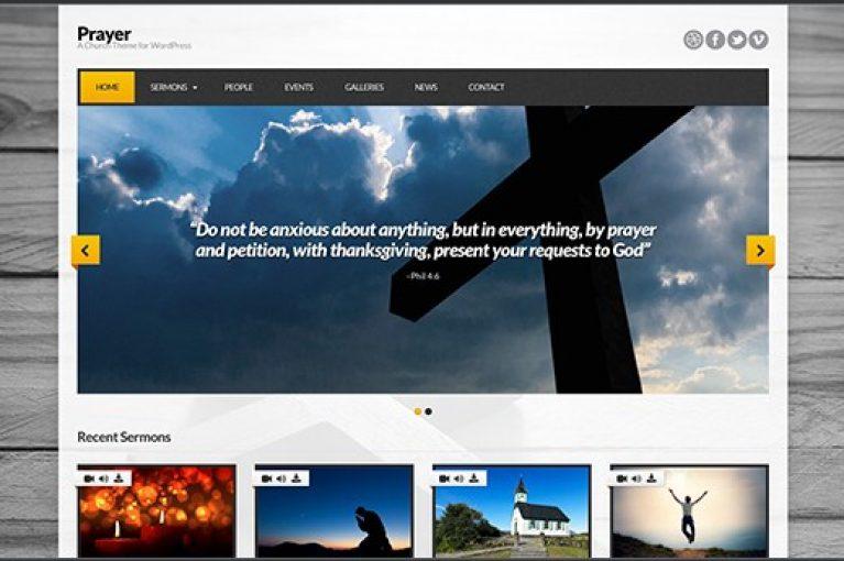CSS Igniter Prayer WordPress Theme - Gpl Pulse