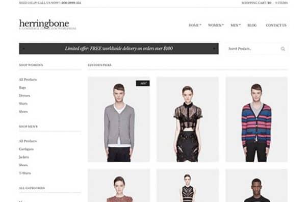 CSS Igniter Herringbone WordPress Theme - Gpl Pulse