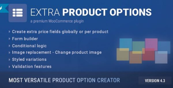 WooCommerce Extra Product Options - Gpl Pulse